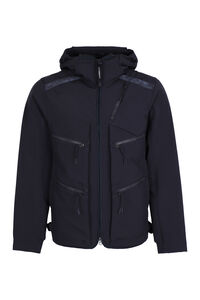 Technical fabric hooded jacket, Raincoats And Windbreaker C.P. Company man