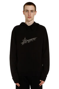 Cotton hoodie, Hoodies Saint Laurent man