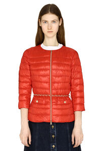 Lucrezia full zip padded jacket, Down Jackets Herno woman