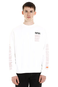 Logo detail cotton sweatshirt, Sweatshirts Heron Preston man
