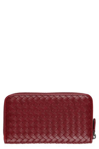 Intrecciato Nappa zip-around wallet, Wallets Bottega Veneta woman