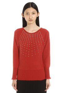 Ghianda embellished crew-neck sweater, Crew neck sweaters Max Mara Studio woman