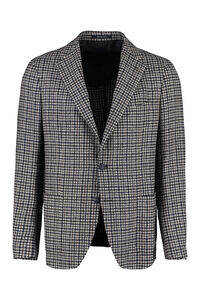 Single-breasted two-button jacket, Single breasted blazers Tagliatore man