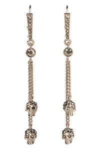 Skull pendant earrings, Earrings Alexander McQueen woman