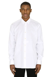 Cotton poplin shirt, Plain Shirts Saint Laurent man