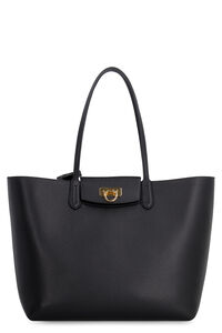 Gancini leather tote, Tote bags Salvatore Ferragamo woman