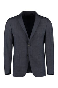 Single-breasted two-button blazer, Single breasted blazers BOSS man