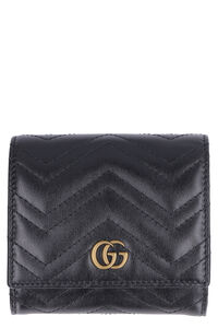 Marmont quilted leather wallet, Wallets Gucci woman