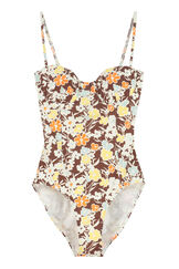 Printed one-piece swimsuit, One-Piece Tory Burch woman