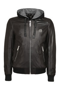 Lambskin jacket, Leather jackets Philipp Plein man