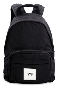 Nylon backpack with patch, Backpack adidas Y-3 man
