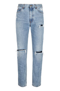 High-rise straight leg jeans, Straight jeans Gucci man