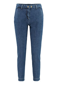 Regular-fit cropped jeans, Cropped Jeans Pinko woman