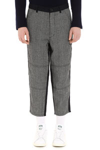 Prince of Wales check wool trousers, Casual trousers Comme des Garçons SHIRT man