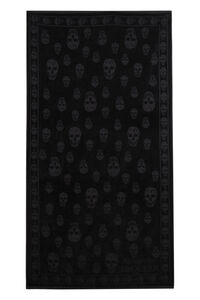 Cotton beach towel, Lifestyle Alexander McQueen man