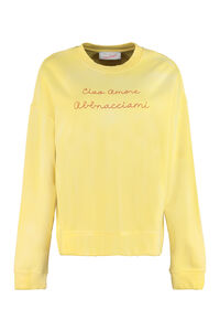 Cotton crew-neck sweatshirt, Sweatshirts Giada Benincasa woman