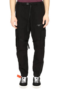 Parachute cotton cargo-trousers, Track Pants Off-White man