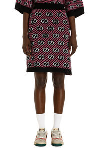 Jacquard knit skirt, Mini skirts Gucci woman