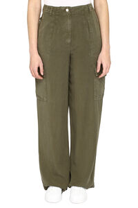 Cargo trousers, Wide leg pants H2OFagerholt woman
