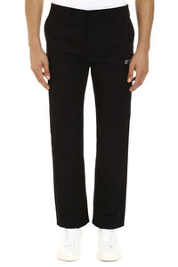 Embroidered straight-leg trousers, Casual trousers CALVIN KLEIN JEANS EST. 1978 man