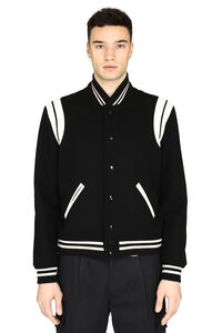Teddy wool bomber jacket, Bomber jackets Saint Laurent man