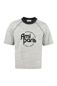 T-shirt in cotone stretch, T-shirt manica corta AMI PARIS man