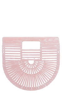 Acrylic Ark mini bag, Top handle Cult Gaia woman
