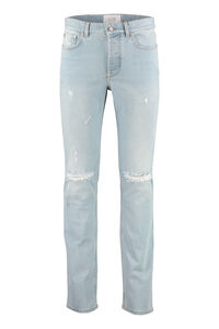 Distressed slim fit jeans, Slim jeans Givenchy man