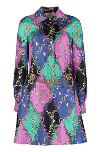Printed shirtdress, Printed dresses Gucci woman