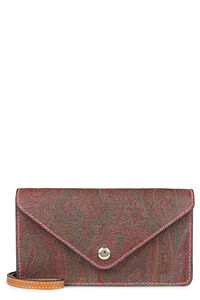 Paisley print shoulder bag, Clutch Etro woman