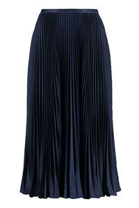 Pleated midi skirt, Pleated skirts Polo Ralph Lauren woman