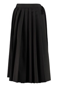 Pleated skirt, Wrap skirts Prada woman