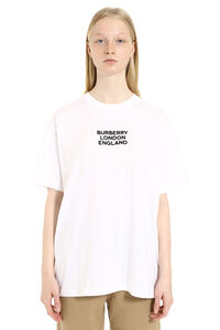 Oversize cotton T-shirt, T-shirts Burberry woman