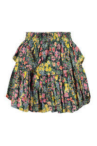Floral print ruffled skirt, Printed skirts LoveShackFancy woman