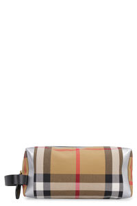 Canvas beauty case, Beauty Cases Burberry woman