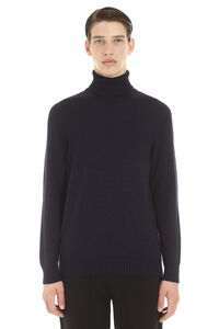 Long sleeve wool turtleneck, Turtleneck Drumohr man