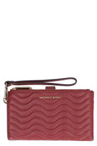 Adele quilted leather wallet, Wallets MICHAEL MICHAEL KORS woman