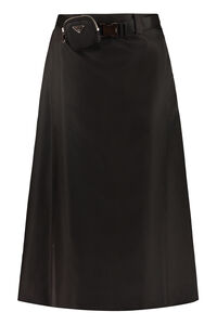 Technical fabric skirt, Midi skirts Prada woman