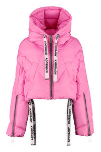 Shorty hooded down jacket, Down Jackets Khrisjoy woman