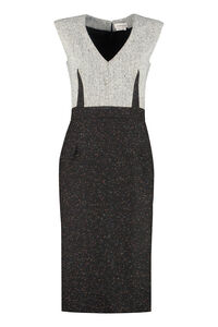 Wool-blend dress, Knee Lenght Dresses Alexander McQueen woman