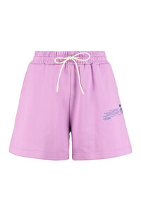 Shorts in cotone stretch, Shorts MSGM woman