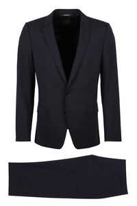 Martini virgin wool two piece suit, Suits Dolce & Gabbana man