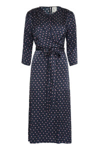 Printed silk dress, Printed dresses L'Autre Chose woman