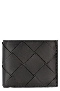 Intrecciato Nappa flap-over wallet, Wallets Bottega Veneta man