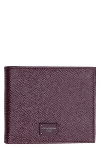 Leather wallet, Wallets Dolce & Gabbana man