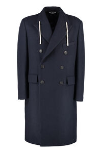 Double-breasted coat, Overcoats Palm Angels man