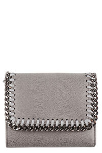 Falabella shaggy deer flap wallet, Wallets Stella McCartney woman