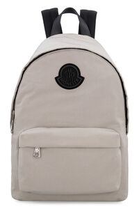 Pierrick technical fabric backpack with logo, Backpack Moncler man
