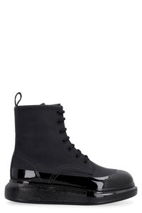Hybrid leather ankle boots, Ankle Boots Alexander McQueen woman