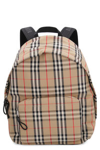 Vintage check nylon backpack, Backpack Burberry man